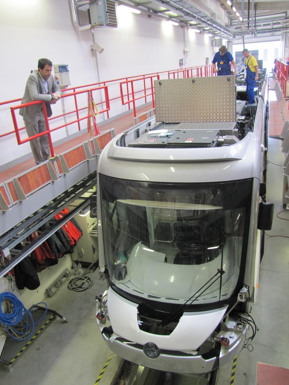 Yeni tramvaylar kalite kontrolünde 22