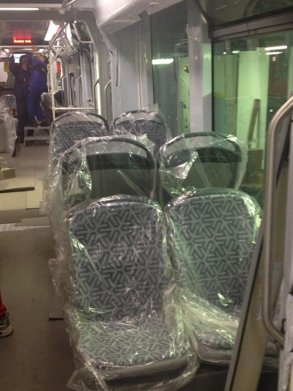 Yeni tramvaylar kalite kontrolünde 25