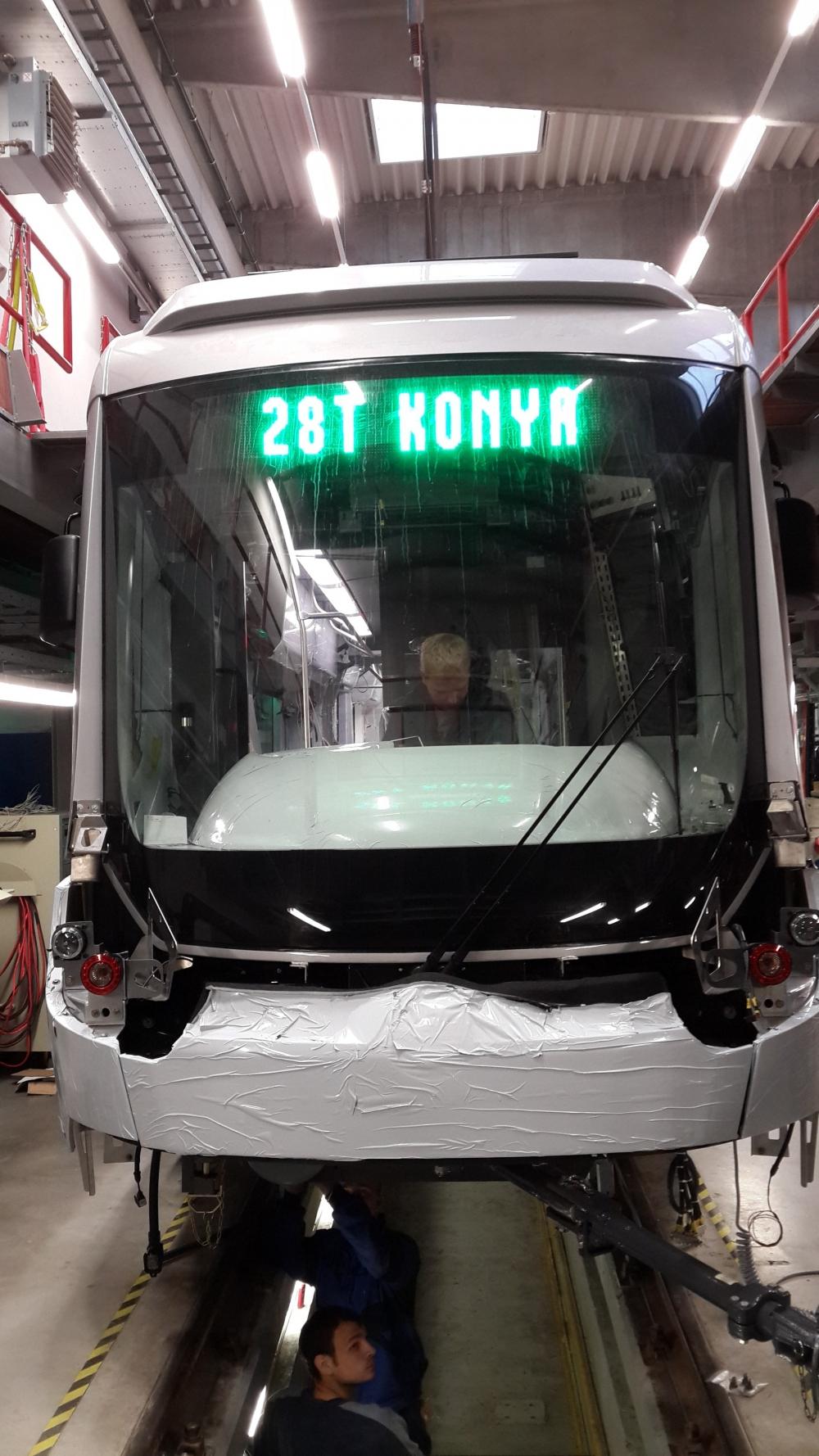 Yeni tramvaylar kalite kontrolünde 3