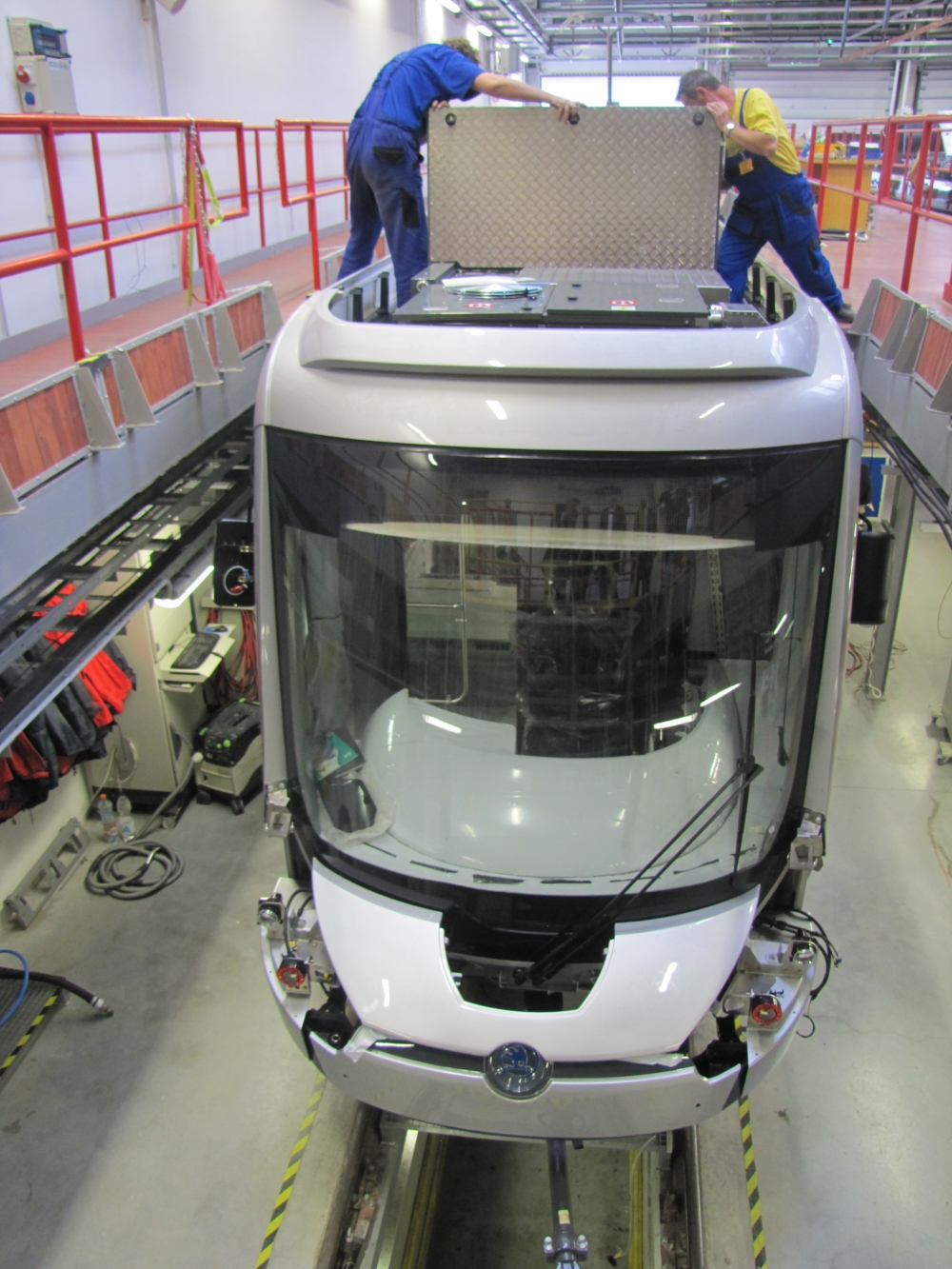 Yeni tramvaylar kalite kontrolünde 6