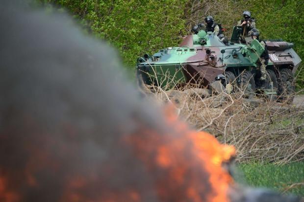 Ukrayna ordusu operasyon başlattı 1