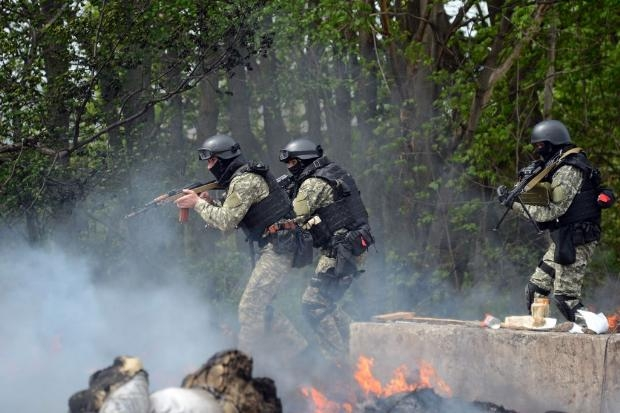 Ukrayna ordusu operasyon başlattı 2