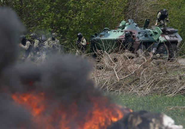 Ukrayna ordusu operasyon başlattı 22