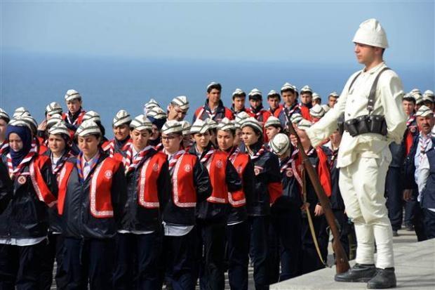 Çanakkale kara savaşlarının 99. yılı 32