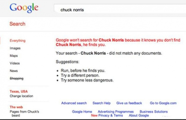 Google aramasında eğlenceli sürprizler 14