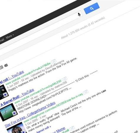 Google aramasında eğlenceli sürprizler 3