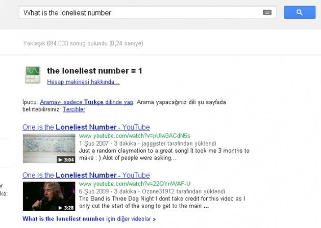 Google aramasında eğlenceli sürprizler 4