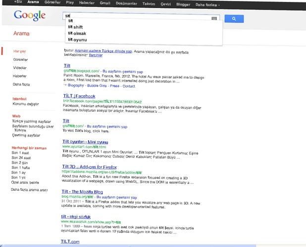 Google aramasında eğlenceli sürprizler 5