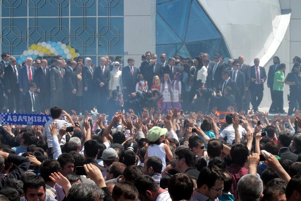 Erdoğan Bilim Merkezi'ni açtı 14