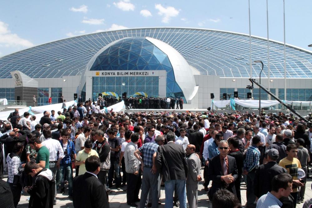 Erdoğan Bilim Merkezi'ni açtı 15