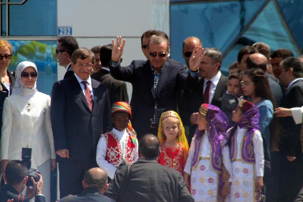 Erdoğan Bilim Merkezi'ni açtı 16