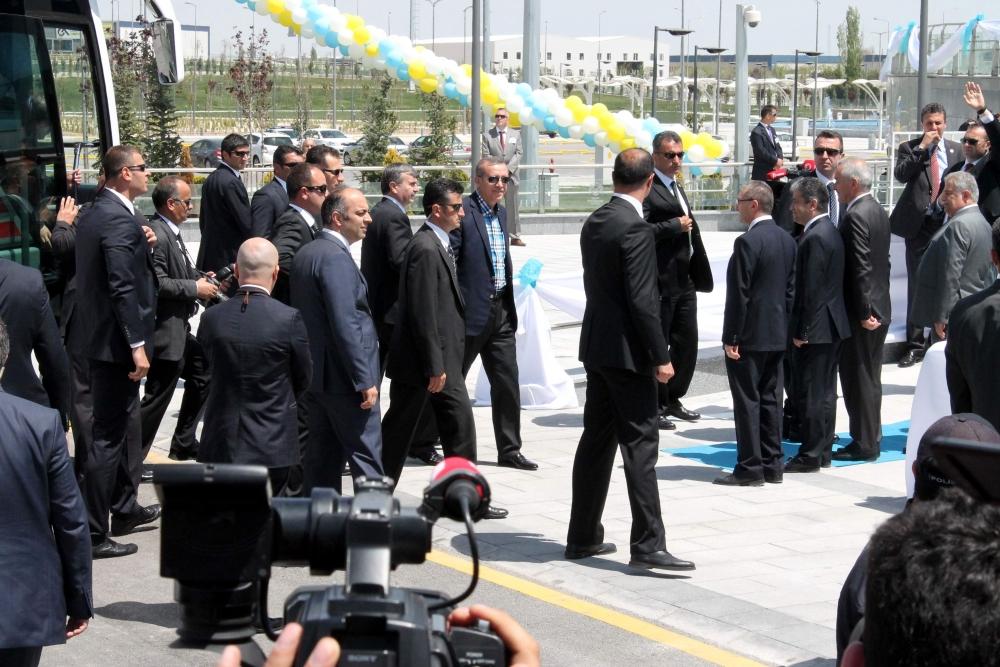 Erdoğan Bilim Merkezi'ni açtı 17