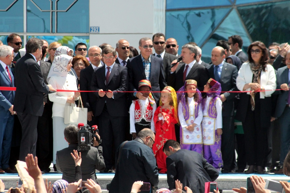 Erdoğan Bilim Merkezi'ni açtı 19