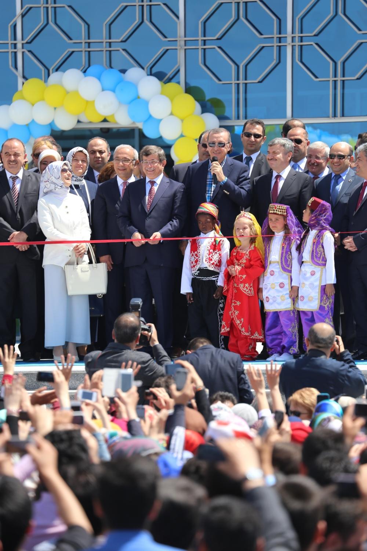 Erdoğan Bilim Merkezi'ni açtı 2