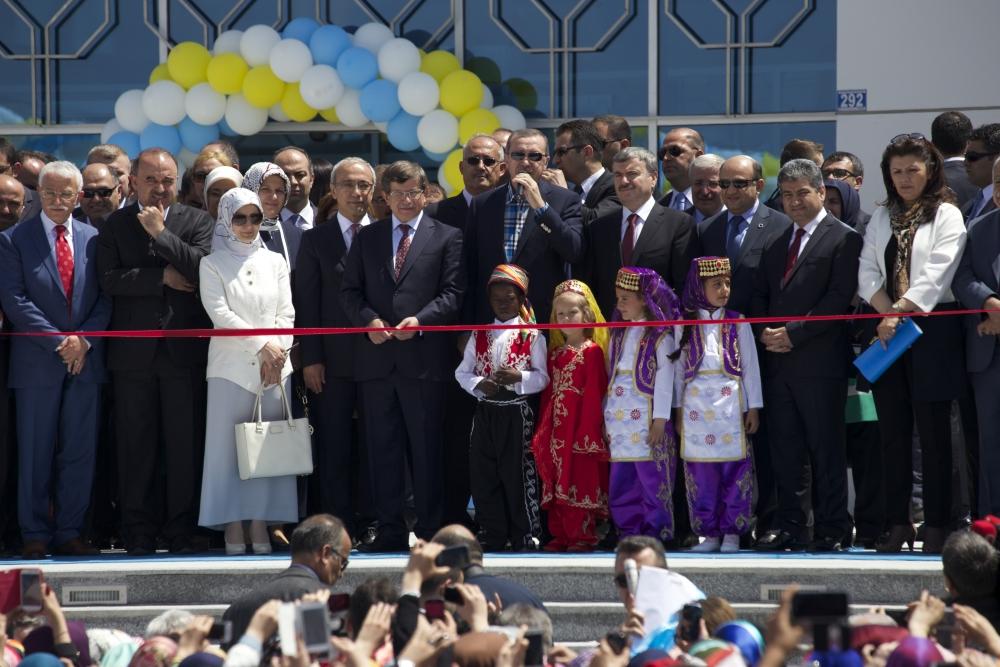 Erdoğan Bilim Merkezi'ni açtı 4