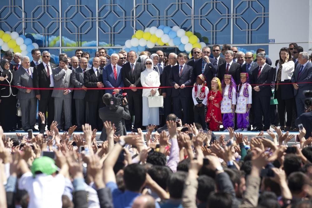 Erdoğan Bilim Merkezi'ni açtı 6