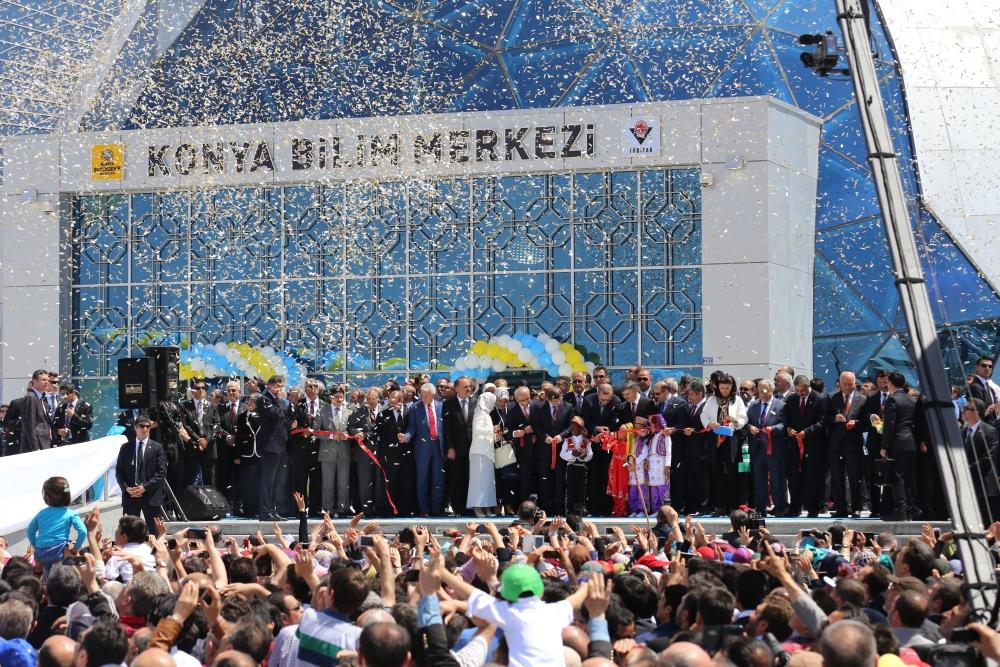 Erdoğan Bilim Merkezi'ni açtı 8