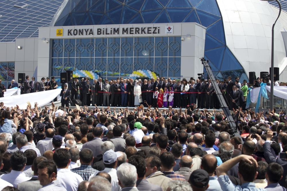 Erdoğan Bilim Merkezi'ni açtı 9