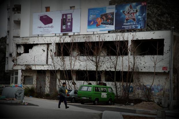 Bosna'dan çarpıcı kareler 13