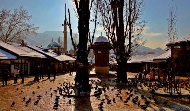 Bosna'dan çarpıcı kareler 26