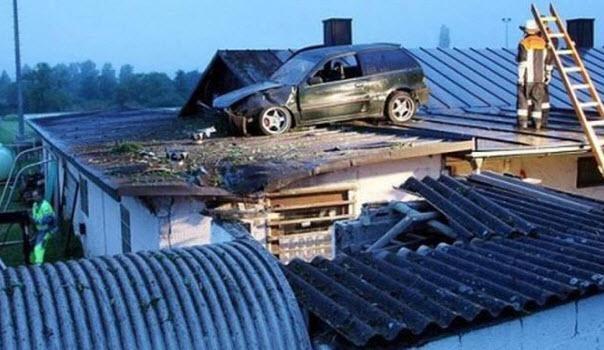 Dünyanın en ilginç trafik kazaları 27