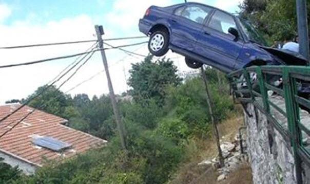 Dünyanın en ilginç trafik kazaları 31