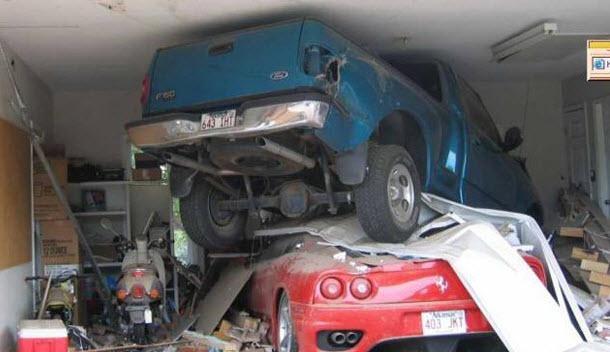 Dünyanın en ilginç trafik kazaları 33