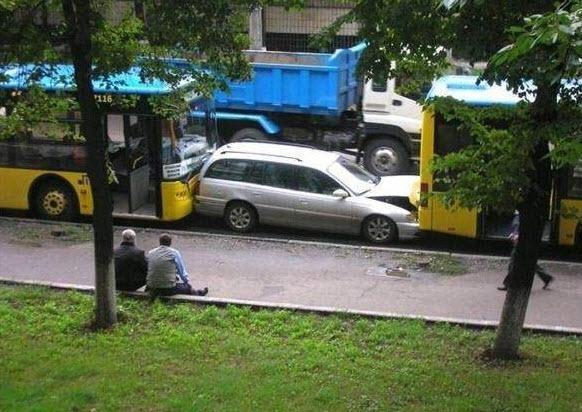 Dünyanın en ilginç trafik kazaları 35