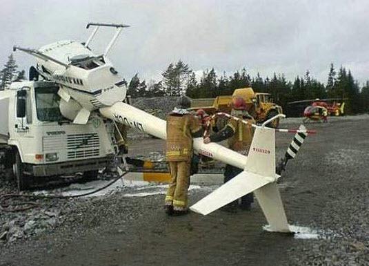 Dünyanın en ilginç trafik kazaları 37