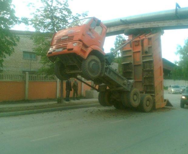 Dünyanın en ilginç trafik kazaları 5