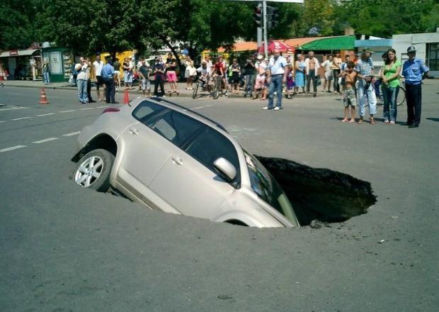 Dünyanın en ilginç trafik kazaları 6
