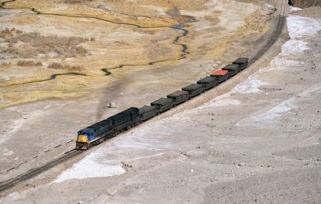 Dağlar arasında şaşırtan tren yolu 7