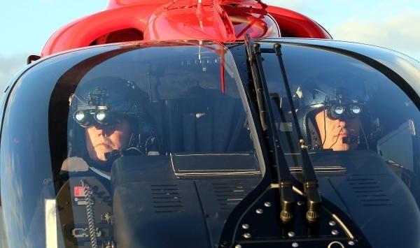 Ambulans helikopterler gece de uçabilecek 1