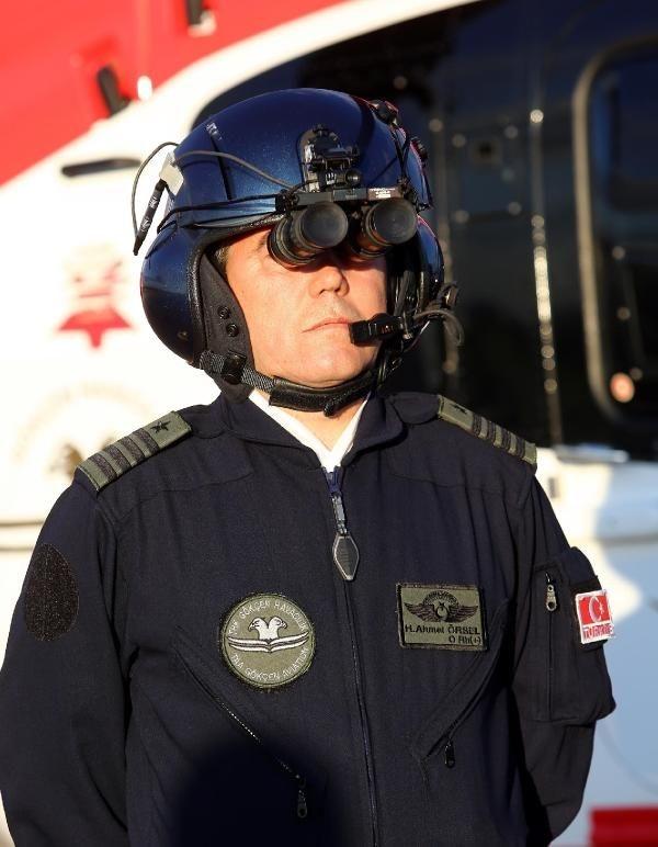 Ambulans helikopterler gece de uçabilecek 10
