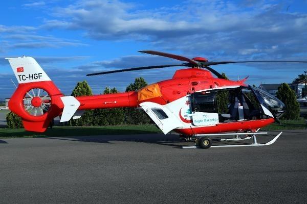 Ambulans helikopterler gece de uçabilecek 12