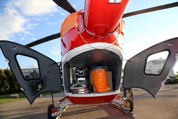 Ambulans helikopterler gece de uçabilecek 13