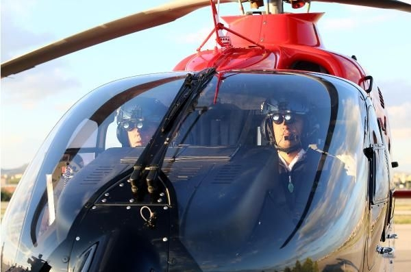 Ambulans helikopterler gece de uçabilecek 14