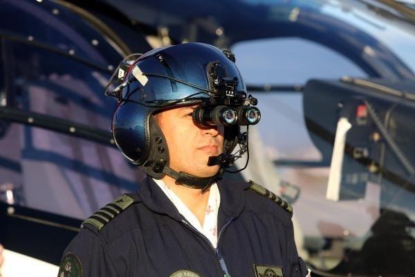 Ambulans helikopterler gece de uçabilecek 15