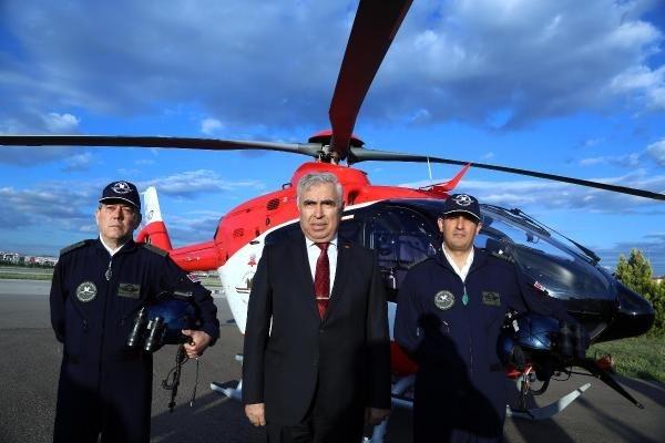 Ambulans helikopterler gece de uçabilecek 17