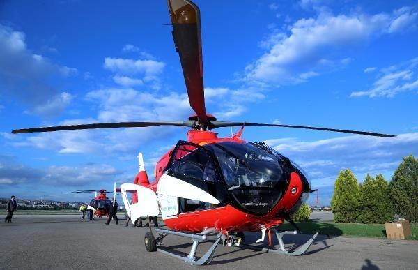 Ambulans helikopterler gece de uçabilecek 4