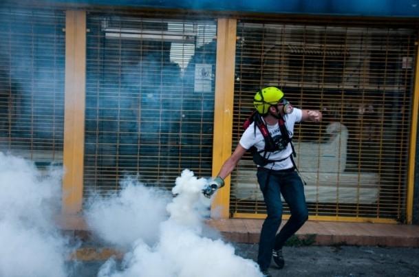 Venezuela'da Yönetim Karşıtı Gösteriler 3