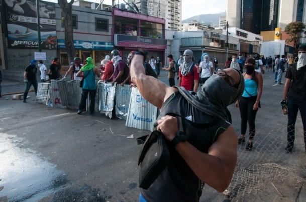 Venezuela'da Yönetim Karşıtı Gösteriler 4