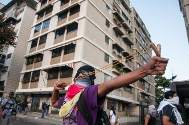 Venezuela'da Yönetim Karşıtı Gösteriler 5