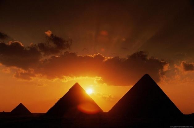 Piramitlerin gizemli tarihi çözüldü 19