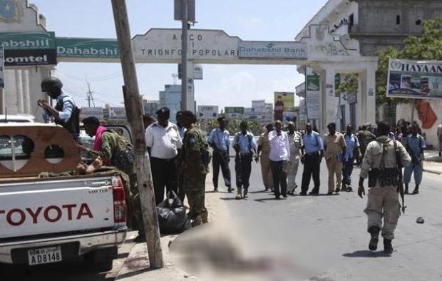Somali'den dehşete düşüren kareler 1