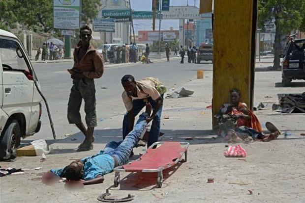 Somali'den dehşete düşüren kareler 4