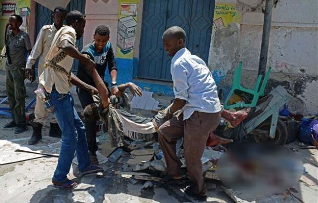 Somali'den dehşete düşüren kareler 5