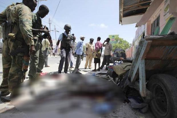 Somali'den dehşete düşüren kareler 8