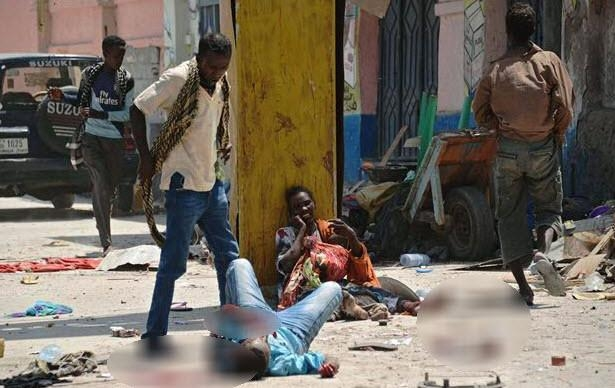Somali'den dehşete düşüren kareler 9