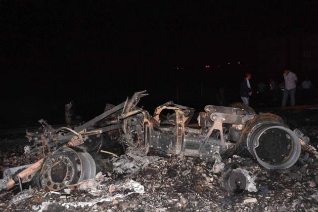 Hatay'da korkunç tren kazası 5